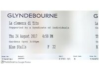 2x tickets for tomorrow's opera st Glyndebourne