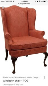 Looking for a Wingback Chair!
