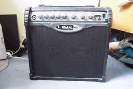 Line 6 Spider 15w amp and Behringer Tube overdrive peddle