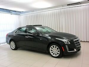 2014 Cadillac CTS CTS4 2.0 TURBO AWD SEDAN, ONE OWNER TRADE IN,