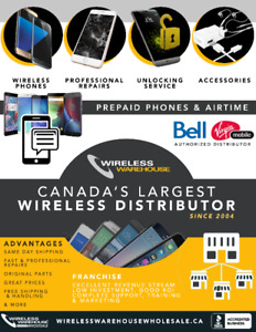 Join the Wireless Revolution- Begin Selling Phones & Accessories