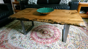 Provincial Live Edge Coffee Table