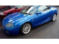 2003 MG TF Convertible 1.8 Petrol 2 Door Blue. Mileage 87K