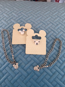 Mickey Mouse Bracelet and Mickey Mouse Charm for Pandora