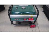 Parkside Generator PSE2800A1 Petrol Generator. 2.6kw - Needs looking at, but engine works fine