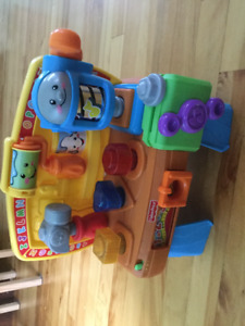 Laugh and Learn workbench by FisherPrice