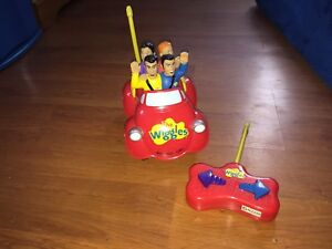 The Wiggles Remote Big Red Car