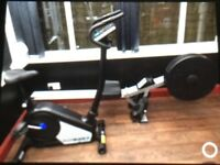 Roger Black Air Rower & Roger black exercise bike