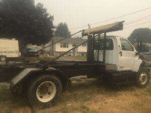 Roll off Hook Lift Truck 2006 GMC