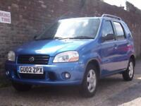 Suzuki Ignis 1.3 GL 2002(02) 5 Door Hatchback