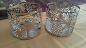 Tropical candle holders