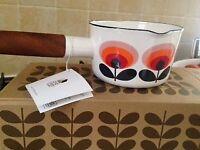 Orla Kiely Milk Pan- new with box