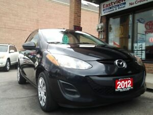 2012 Mazda Mazda2 NO ACCIDENT,GX,AUTO,AIR,P/WINDOW,P/LOCK.$6999