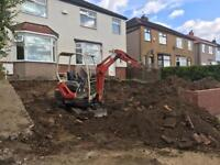 GROUNDFORCE EXCAVATIONS AND LANDSCAPING *MINI DIGGER HIRE*BOBCAT HIRE*WOODCHIPPER HIRE*