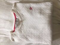 Crew Clothing Jumper - White