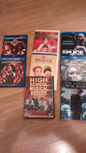 Collections, tv or film!  DVDs & Blu Ray discs- must go!