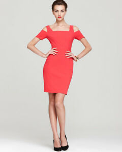 New BCBG Lipstick Red Dress