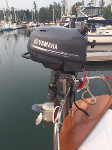 For Sale, Yamaha 4 hp outboard, short stroke
