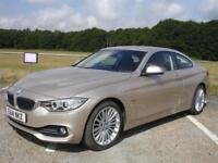 BMW 4 SERIES 2.0 420i LUXURY