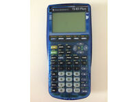 Texas Instrument Ti 83 Plus calculator