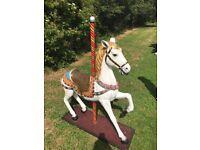Carousel horse Christmas Prop