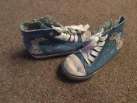 Next girls hi tops size 9