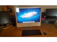Late 2006 24inch iMac, Core 2 Duo, 4GB RAM, 320GB Hard Drive