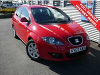 SEAT ALTEA XL 2.0 STYLANCE TDI 5d 138 BHP **1 YEAR MOT** (red) 2007