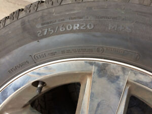 Tires - All season radials on rims for a Dodge RAM 150