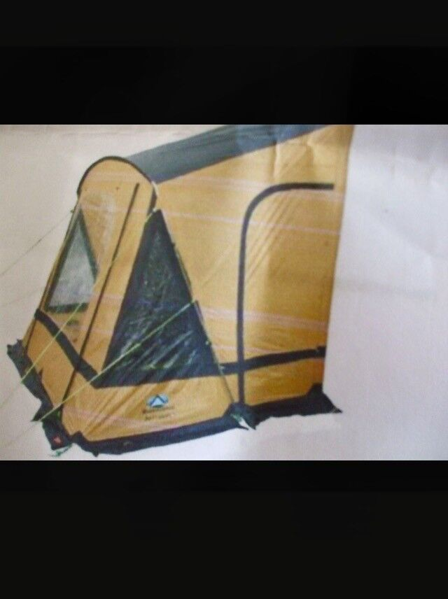 Caravan Porch Awning - SunnCamp Swift Gold Limited Edition ...