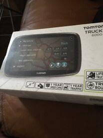 Tom tom truckers 6000