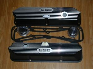 Set of custom made valve covers for a Ford 390 engine