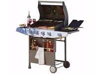 Brand New Premium 4 Burner Gas BBQ with Side Burner