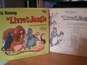 Vinyl Le livre de la jungle de Disney