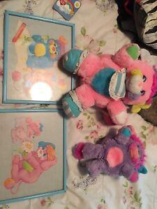 Vintage Popples 80s toys