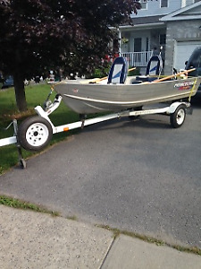 Excellent Princecraft 12' Boat-Motor & Trailer Package