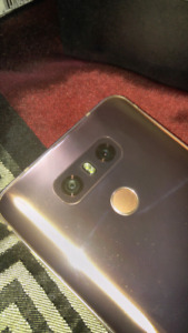 Lg G6 64gb Rose Gold - No contract!