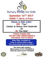 Rotary Ride for Kids