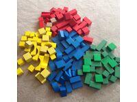 Wooden building blocks ELC