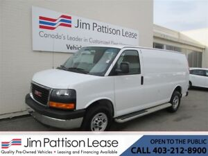 2015 GMC Savana 2500 4.8L RWD Cargo Van w/Power Group & Bulkhead