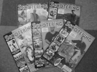70 Editions of Scootering Magazines