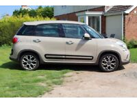 Fiat 500L Trekking MPV with start/stop technology
