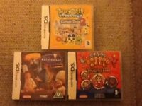 DS Nintendo Games x3