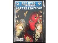 Dc Redhood and the Outlaws Rebirth #1 1st printing & Rebirth : Red Hood and the Outlaws #1