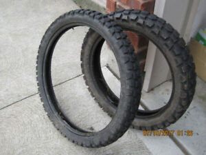 front and rear enduro tires (used)