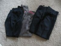 Work Trousers various colours size 8 good condition ten pounds £10 only