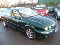 Jaguar X-TYPE SE D,4 dr saloon,stunning looking Jag,full tan leather interior,runs and drives as new