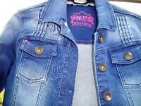 Denim Jacket, Kids, Excellent Condition