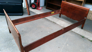 Solid Mahogany Andrew Malcolm Single Bed