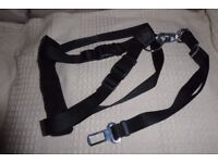 NEW Dog Car Harness with Detachable SEAT BELT STRAP for Medium to Large Dog, 50 - 70 cm, Histon